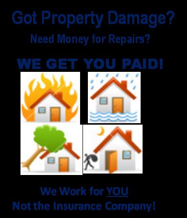 Louisiana Public Adjusters - Property Damage Concept Image